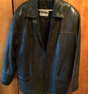 Куртка нубук кожа 50-52
