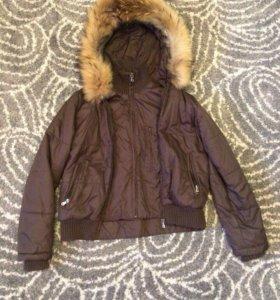 Куртка зимняя, для девушек