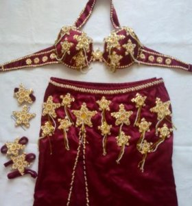 Костюм для арабских танцев.