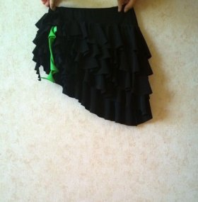 Тренировочная юбка для латины