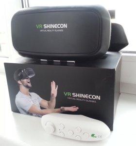 Очки виртуальной реальности VR SHINECON с пультом