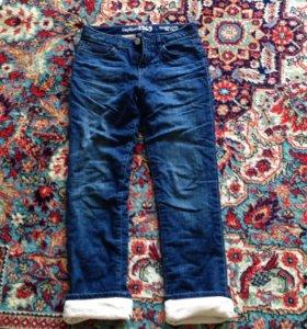 Детские джинсы утепленные ( на флисовой подкладке)