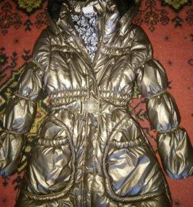 Куртка зимняя размер 140
