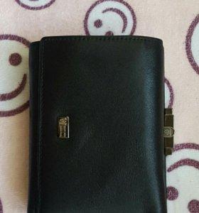 Кошелек-портмоне кожаный  WANLIMA