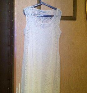 Платье летнее новое с ценником