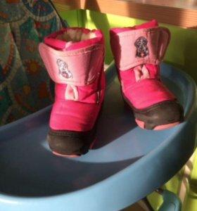 Зимние сапоги для девочки Demar