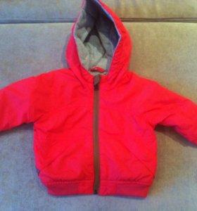 Куртка Zara 3-6мес