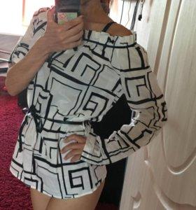 Кофта туника блузка рубашка новая