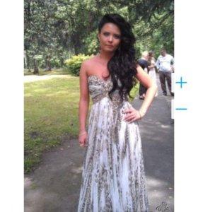 Платье вечернее роскошное (США) размер 38-42. Торг