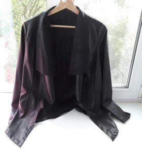 кожанка кожаная куртка - пиджак avon