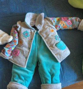 Курточка и штанишки.
