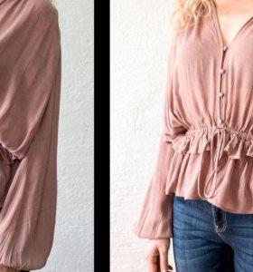 Блуза в стиле new romantic. Абсолютно новая