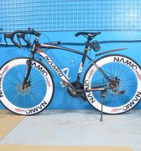 Новый шоссейный велосипед namio