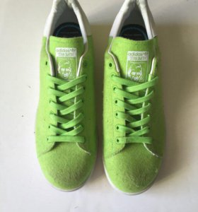 Кроссовки adidas Stan smith pharell оригинал зелен