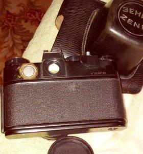 Фотоаппарат Зенит TTL с объективом Гелиос