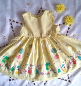 Платье 80-86см