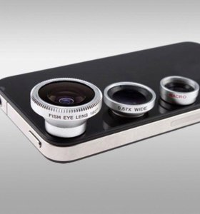 Линзы камеры для iPhone