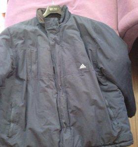 Адидас куртка (на синтепоне)