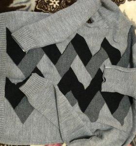 Мужской свитер 52-54 новый