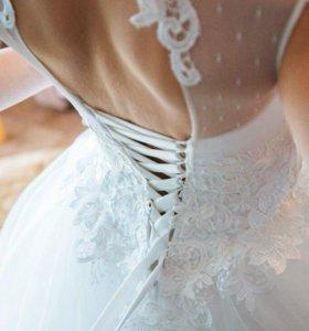 Свадебное платье на Дюймовочку