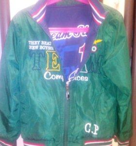 Осенняя куртка р.134-140