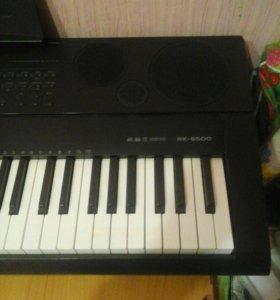 Синтезатор casio wk 6500