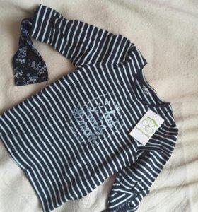 Новая блузка vertbaudet 8 (126 см)