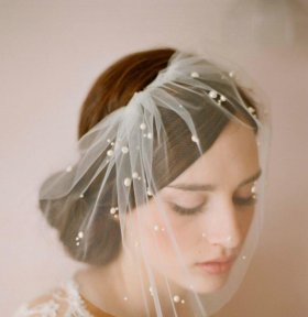 Вуалетка свадебная