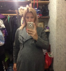 Пальто на время беременности