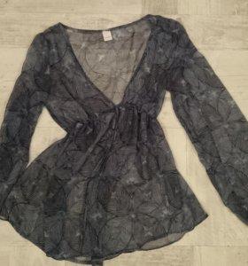 Шифоновая блузка Camaieu