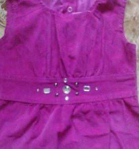 Новое платье с этикеткой + носочки