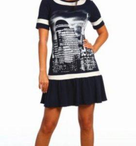 Платье туника лето 48 50 52