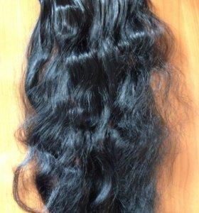 Волосы на заколках. Пряди искусственных волос