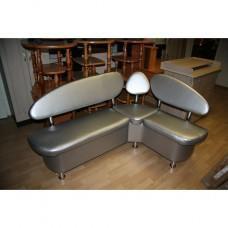 Кухонный угловой диван Техно