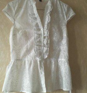 Блузка Белая XS ZOLLA
