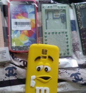 Чехлы для Galaxy S5 стоимостью от 200 до 600 рубле