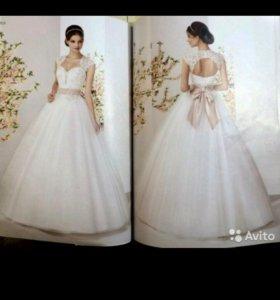 Свадебное платье,фата