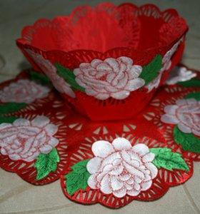 Декоративные вазочки