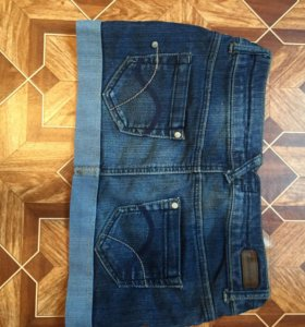 Джинсовая юбка размер 40-42