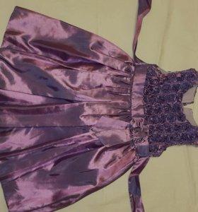 Платье для девочки 4-6 лет