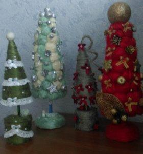 Деревья и елки на Новый год