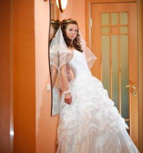 Счастливое свадебное платье