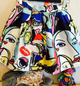 Новая пышная юбка