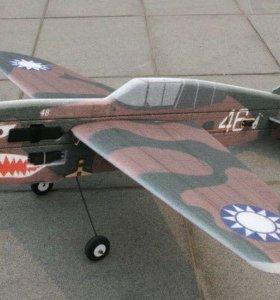 Радиоуправляемый самолет Р40 Tamahawk