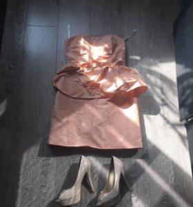 Платье Кира - пластинина