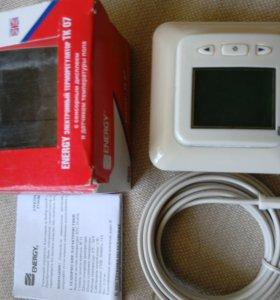 Терморегулятор для теплых полов TK07