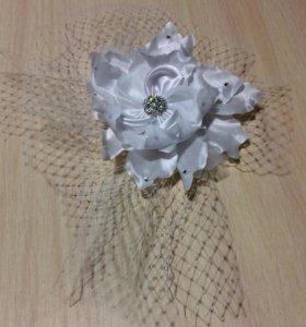 Цветок заколка для невесты