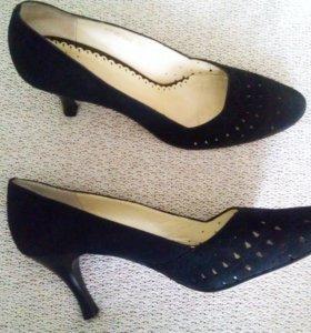 Туфли Wilmar из натуральной замши, 38 размер.