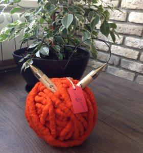 Пряжа loopy Mango для вязания+спицы