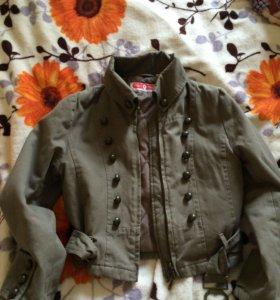 Куртка-пиджак утепленная
